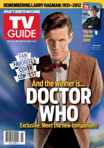 Doctor Who TVG Cover