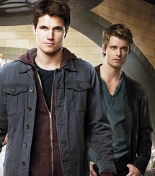 Robbie Amell and Luke Mitchell
