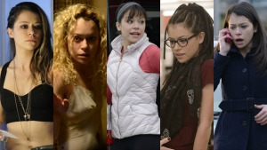 Some of the Orphan Black Clones