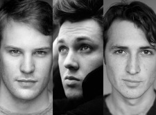 Divergent Cast: Ben Lamb, Christian Madsen and Ben Lloyd-Hughes