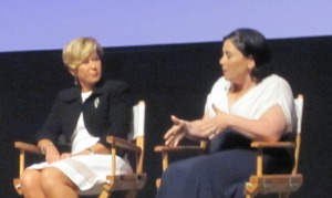 Yeardley Smith and Alex Borstein