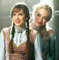 Elizabeth Lail and Georgina Haig