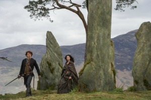 Jamie and Claire Outlander NEW