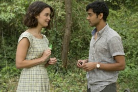 Charlotte Le Bon and Manish Dayal
