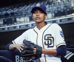 Kylie Bunbury as Ginny Baker in Pitch