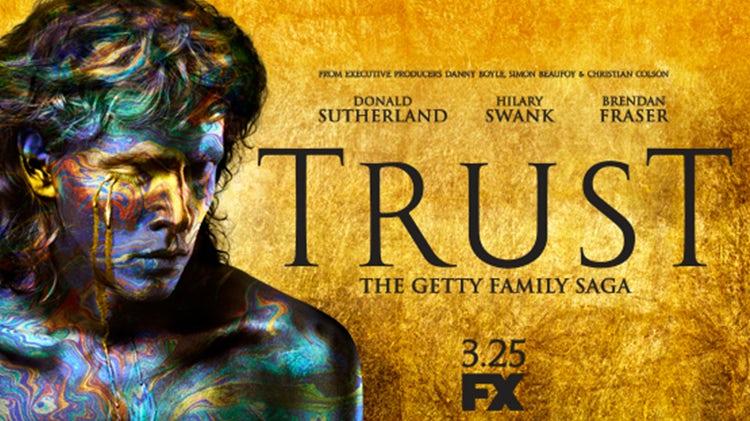Risultati immagini per trust getty season 1 banner